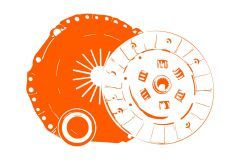 Kit d'embrayage Kubota GL, GT, L1, L, Saturn, ST25, ST30, B2150, B9200