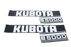Autocollants pour capot Kubota B5000