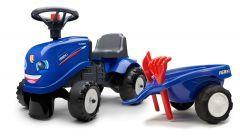 Iseki Porteur tracteur avec remorque et outils