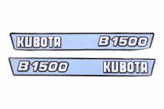 Autocollant pour capot Kubota B1500