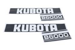 Autocollant pour capot Kubota B6000