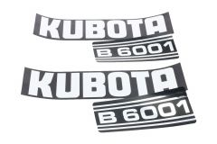 Autocollant pour capot Kubota B6001