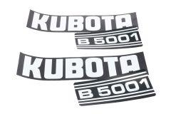 Autocollant pour capot Kubota B5001