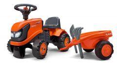 Kubota M4072 Porteur tracteur avec remorque et outils