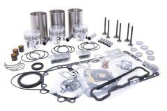 Kit de révision du moteur Yanmar 3T72, YM169, YM180, YM186, YM187, YM1401, YM1410, YM1502, YM1510, John Deere 935