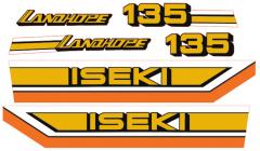 Autocollant pour capot Iseki Landhope TU135