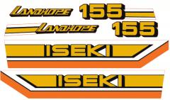 Autocollant pour capot Iseki Landhope TU155