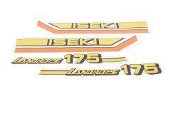Autocollant pour capot Iseki Landhope TU175