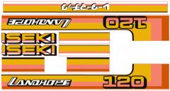 Autocollant pour capot Iseki Landhope TU120