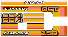 Autocollant pour capot Iseki Landhope TU150