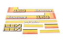 Autocollant pour capot Iseki Landhope TU160