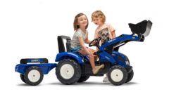 Iseki Tracteur à Pédales avec Remorque et chargeur frontal 3 à 7 ans